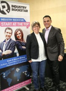 Jutta Jerlich and Kevin Harrington